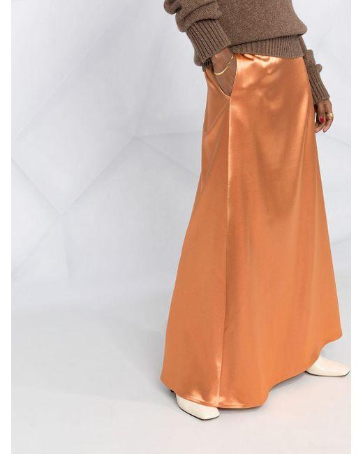 Jil Sander ロングスカート Orange