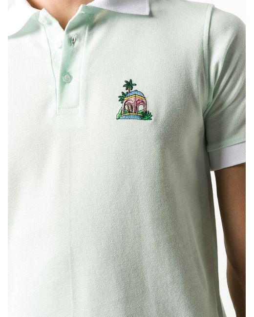 メンズ CASABLANCA Casa Hotel ポロシャツ Green