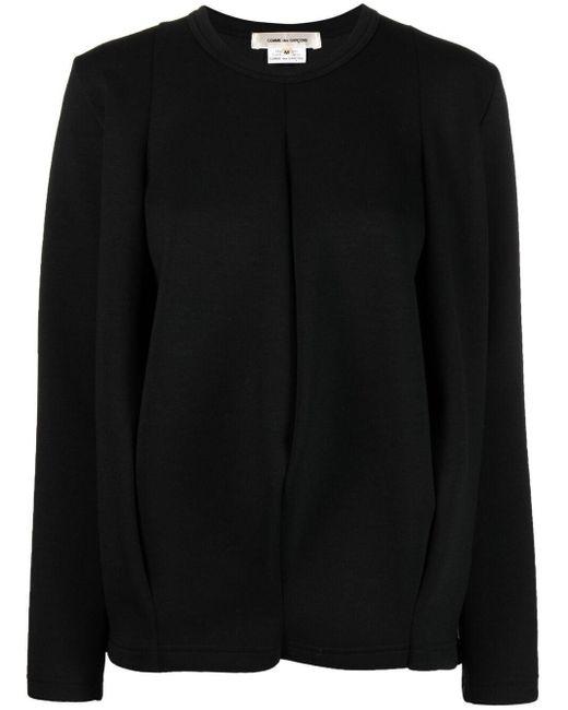 Comme des Garçons クルーネック スウェットシャツ Black
