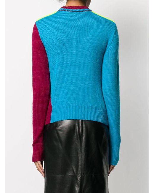 Victoria Beckham カラーブロック セーター Pink