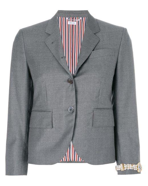 Thom Browne テーラードジャケット Gray