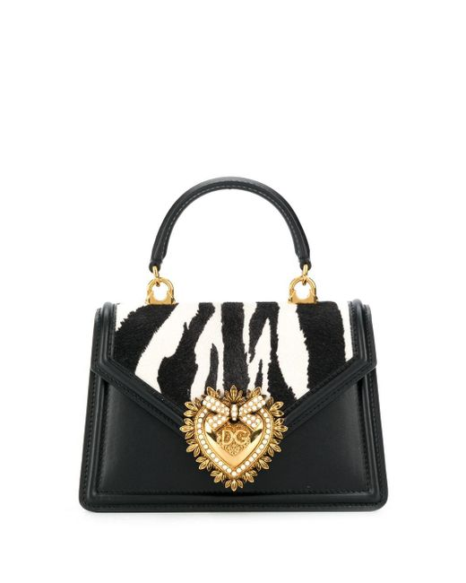 Dolce & Gabbana Devotion ハンドバッグ Black