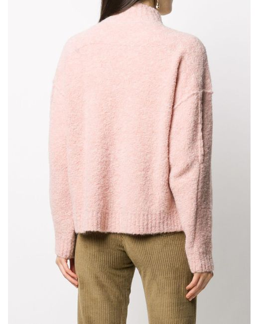 MASSCOB ハイネック セーター Pink