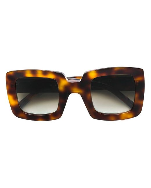 Marni Oversized Sunglasses Brown