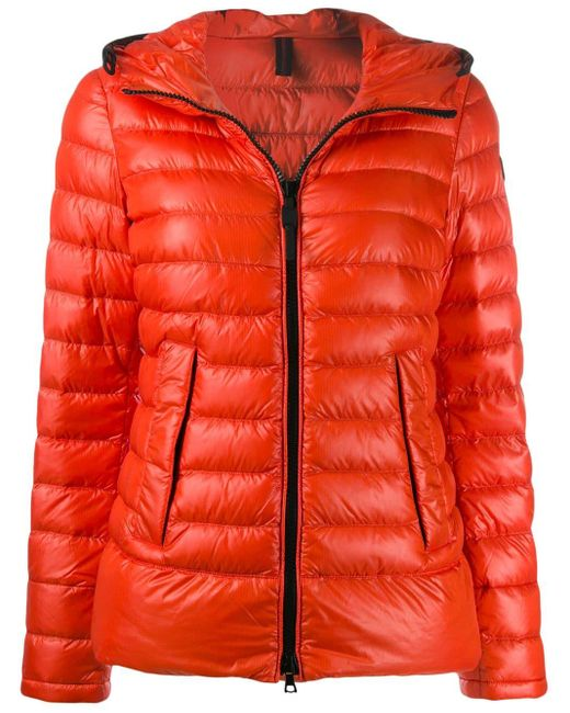 Peuterey Red Zipped Padded Jacket