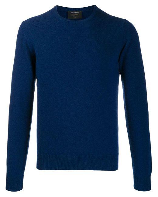 メンズ Dell'Oglio カシミアセーター Blue