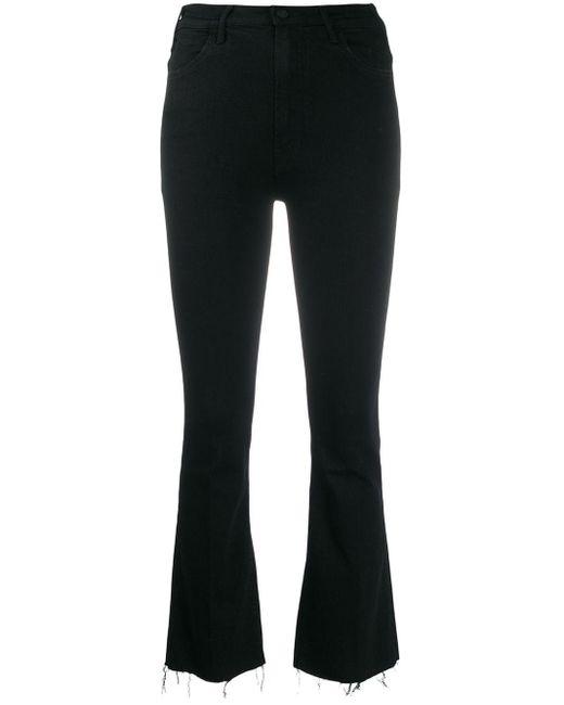 Jeans svasati a vita alta di Mother in Black