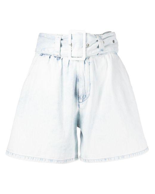 MSGM デニムショートパンツ White