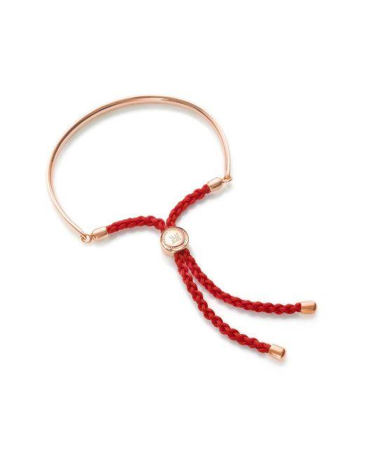 Monica Vinader Rp Fiji コーラルローズ ブレスレット Red
