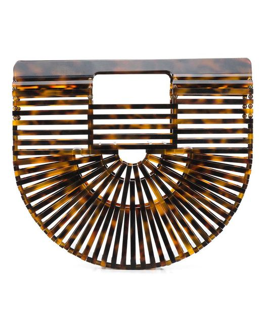Cult Gaia - Brown Ark Tortoiseshell Clutch - Lyst