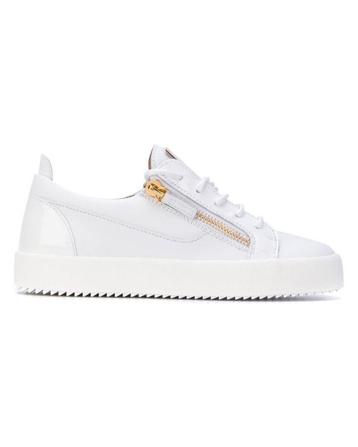 Giuseppe Zanotti | White Nicki Low-top Sneakers | Lyst