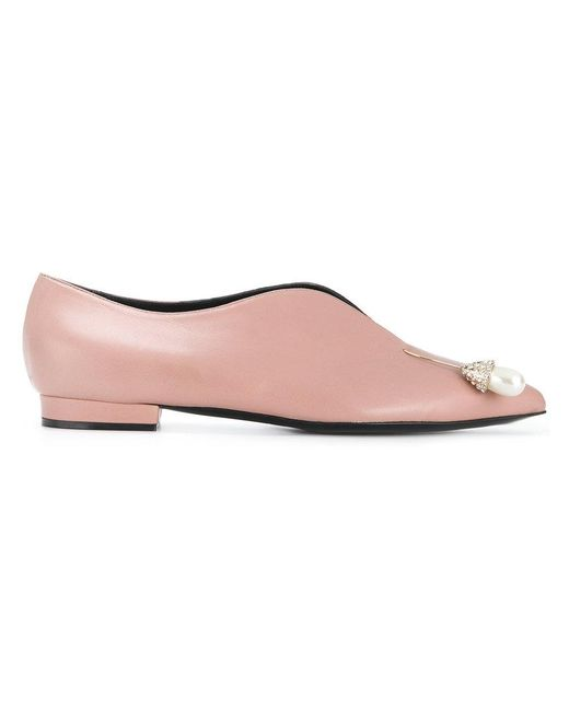 Coliac - Pink Chicca Loafers - Lyst