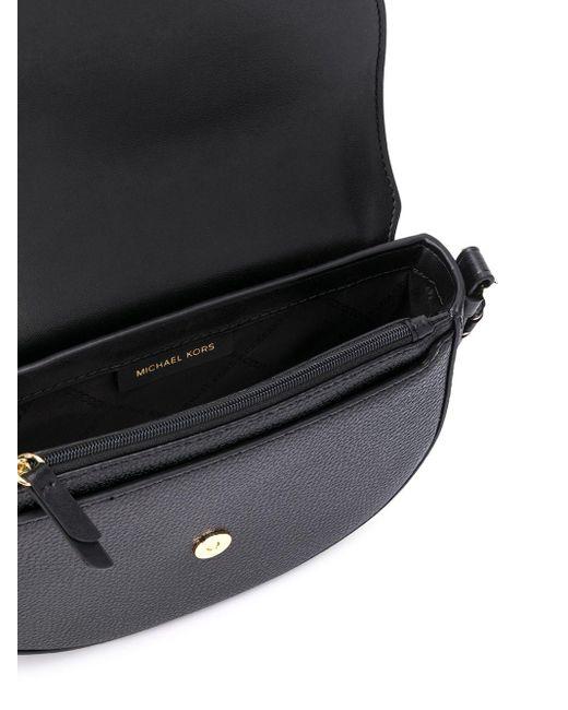 MICHAEL Michael Kors Black Dome-shaped crossbody bag