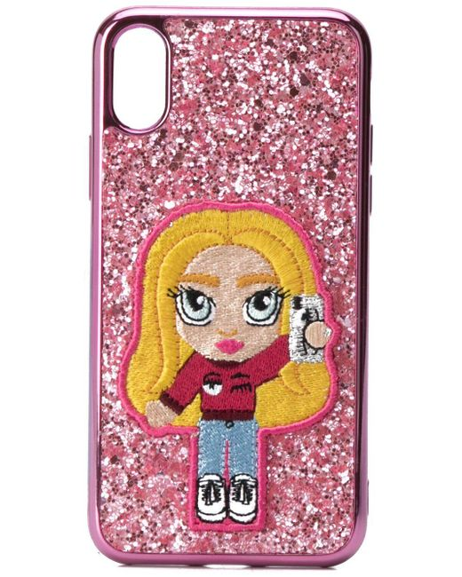 Chiara Ferragni グリッター Iphone X/xs ケース Pink