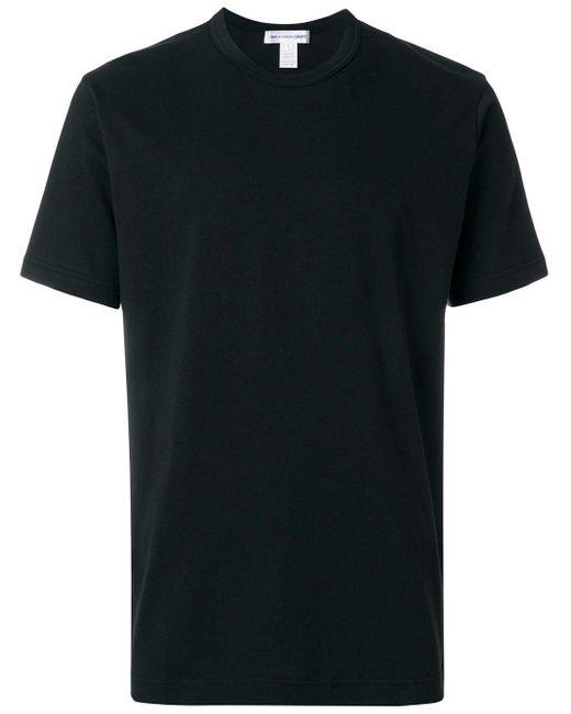 メンズ Comme des Garçons クルーネックtシャツ Black