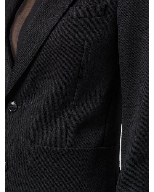 AMI 2ボタン ジャケット Black