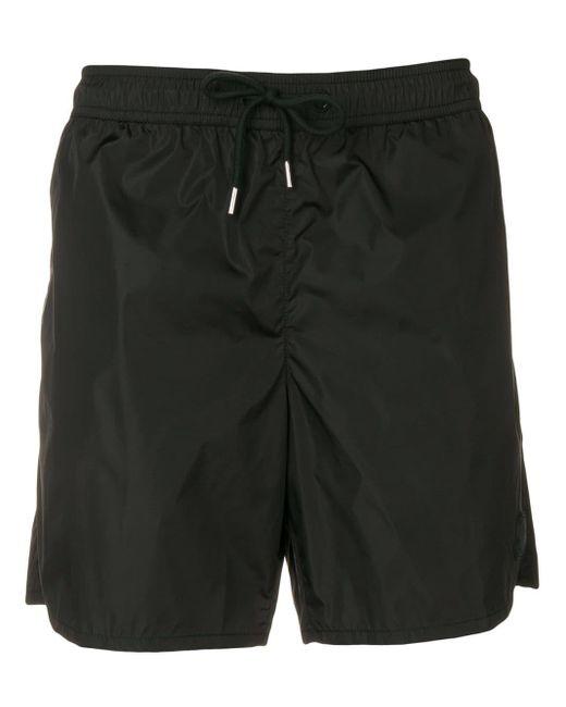 Short à taille élastiquée Moncler pour homme en coloris Black