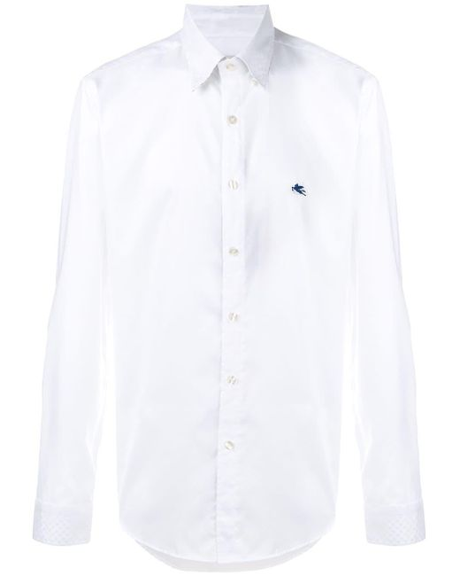 Regular Shirt Etro для него, цвет: White