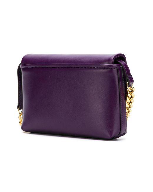 254371c2e94f ... Philippe Model - Purple Foldover Top Shoulder Bag - Lyst ...