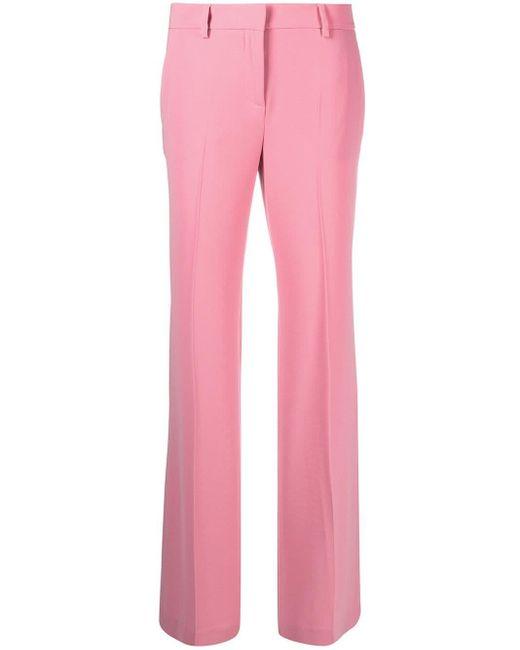 Alberto Biani ストレート テーラードパンツ Pink