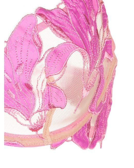 Fleur du Mal Lily ブラジャー Pink