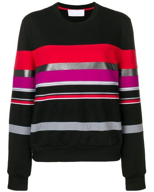 No Ka 'oi Black Striped Sweater