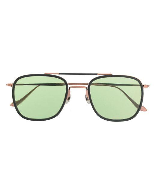 メンズ Matsuda オーバーサイズ サングラス Green