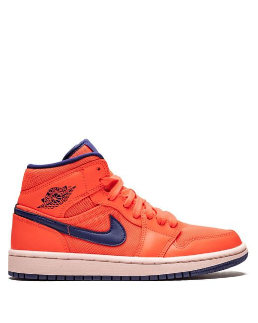 Baskets montantes Wmns Air 1 Nike en coloris Orange