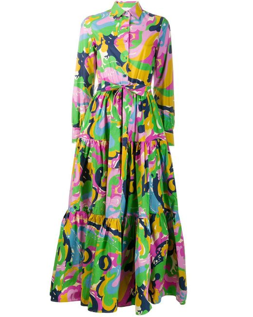 LaDoubleJ Green 'Bellini' Kleid