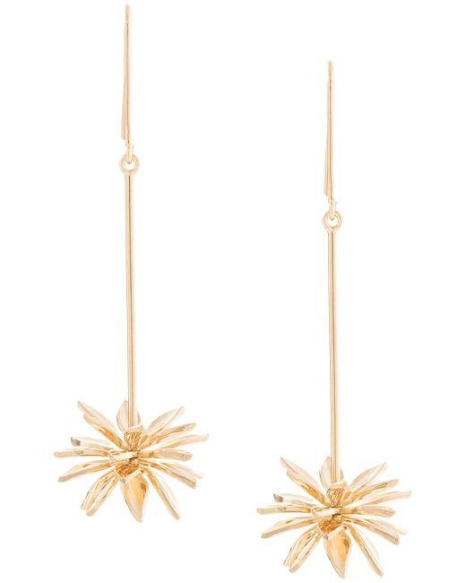 Meadowlark Fleur ドロップピアス Metallic
