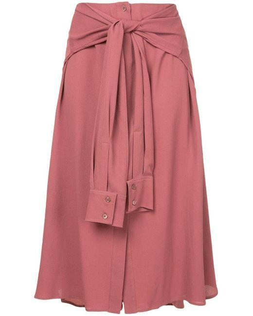 Sies Marjan ウエストタイ スカート Pink