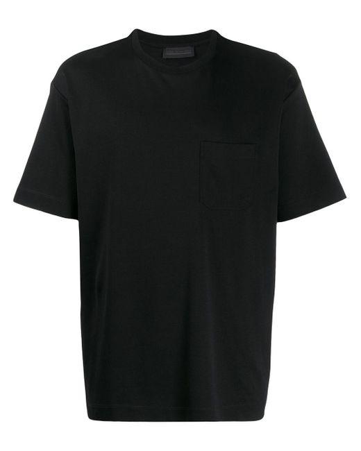 メンズ Diesel Black Gold チェストポケット Tシャツ Black