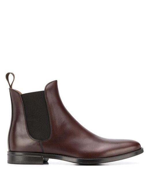 Ботинки По Щиколотку Scarosso для него, цвет: Brown