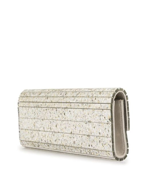 Jimmy Choo Sweetie クラッチバッグ M White