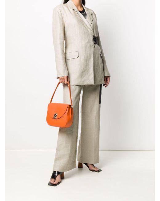Furla Sleek ショルダーバッグ Orange