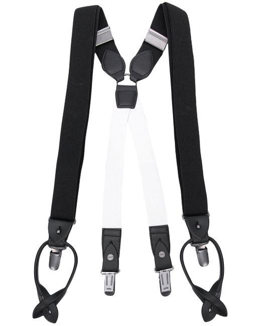 メンズ Homme Plissé Issey Miyake Adjustable Elasticated Braces Black