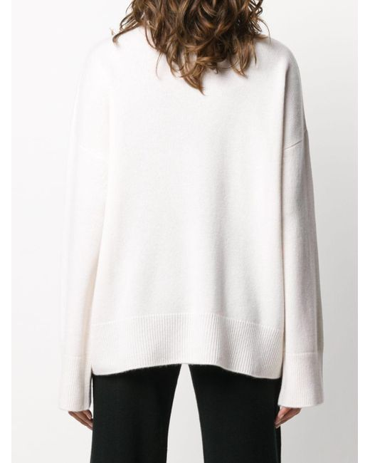 Le Kasha カシミア タートルネックセーター White