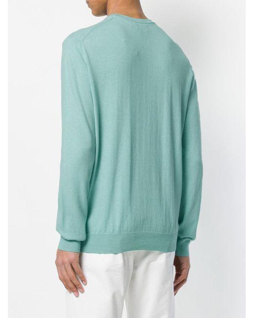 メンズ Polo Ralph Lauren クラシック ニットトップス Green