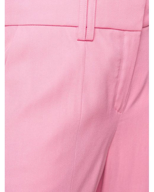 Balmain テーパード テーラードパンツ Pink