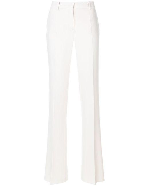 Max Mara Studio - White Sahara Trousers - Lyst