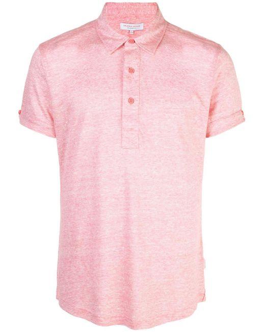 メンズ Orlebar Brown Sebastian ポロシャツ Pink