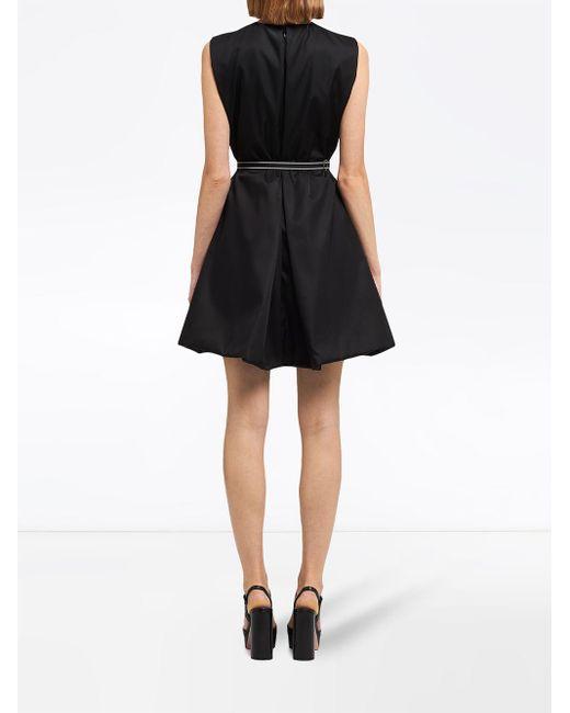 Prada ノースリーブ ドレス Black