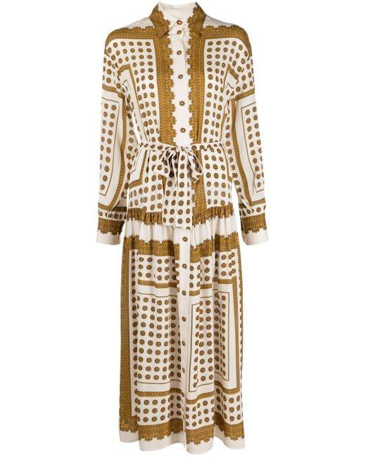 Zimmermann プリント シャツドレス Multicolor