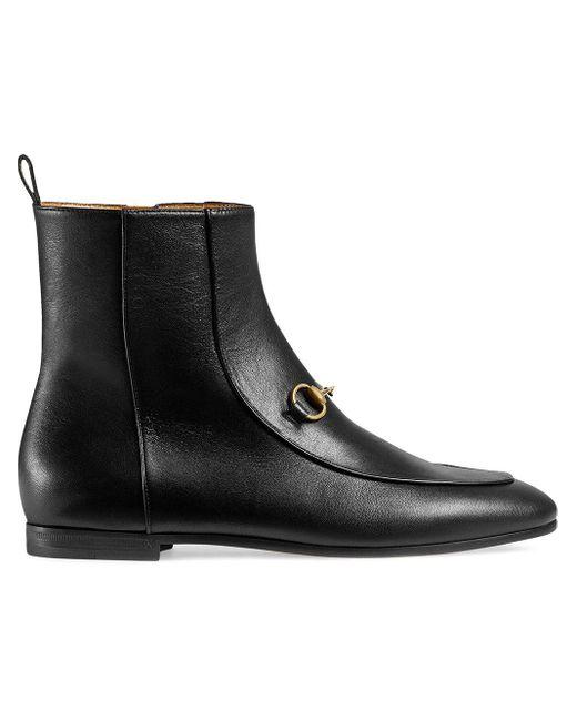 Gucci ブラック ニュー ヨルダーン アンクル ブーツ Black
