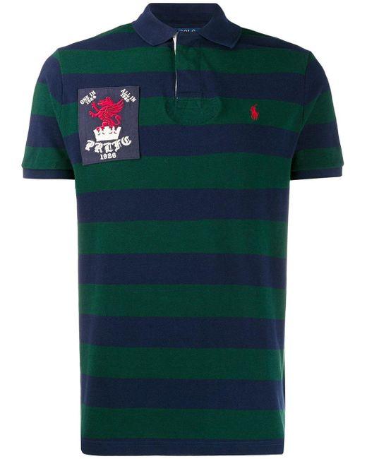 メンズ Polo Ralph Lauren メッシュ ポロシャツ Green