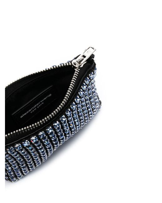 Borsa mini con decorazione di Alexander Wang in Blue