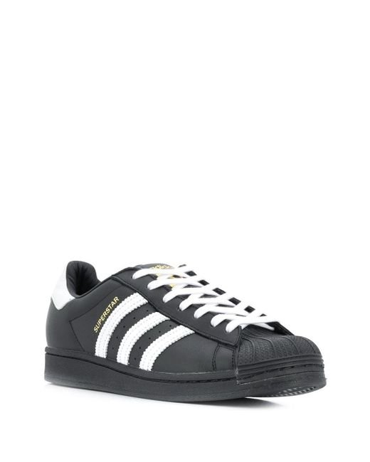 Adidas Superstar スニーカー Black