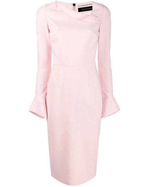Roland Mouret Limand ドレス Pink