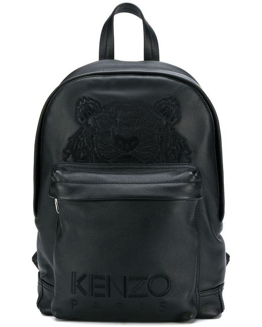 96184b6e Lyst - KENZO Tiger Backpack in Black - Save 2%