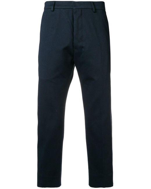 メンズ AMI ストレートフィット パンツ Blue